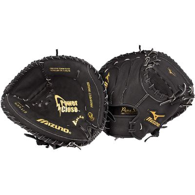 mizuno prospect youth catcher's mitt kids baseball gloves full