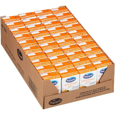 Ocean Spray Orange Juice for kids display pack