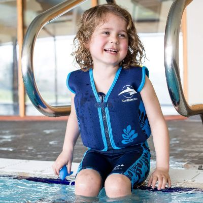 Original Children's by Konfidence swim vests and jackets for kids and toddlers girl
