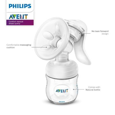 philips avent manual breast pump for moms features