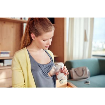 philips avent manual breast pump for moms nursing