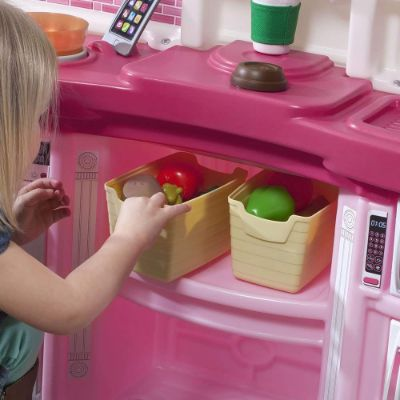 Step2 Fun with Friends Kitchen play kitchen for kids and toddlers storage