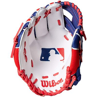 wilson youth kids baseball gloves front