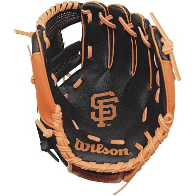 wilson youth kids baseball gloves giants