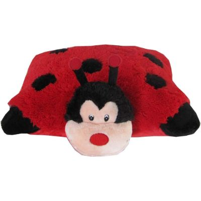 zooPurr ladybug pillow pal bug toys kid flat