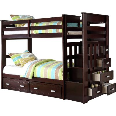 allentown trundle bunk and loft beds for kids drawers