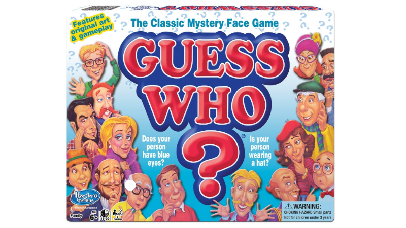 Guess Who? Board Game box