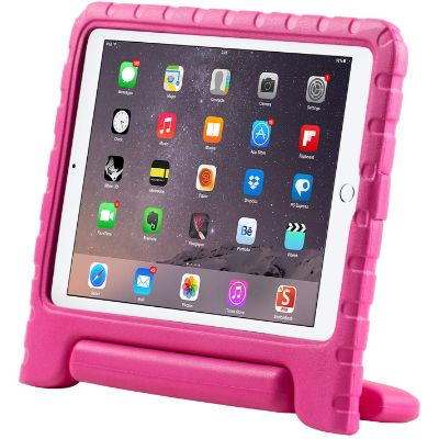 i-Blason Lightweight Super Protective Convertible Stand Cover ipad case for kids front view upright