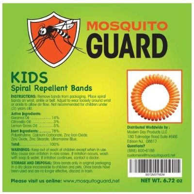 kids guard bracelets insect repellents for kids back