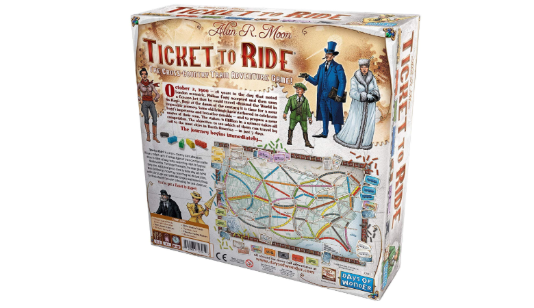 Ticket To Ride game rules