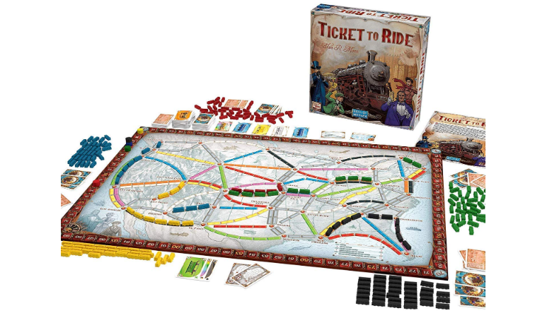 Ticket To Ride game set
