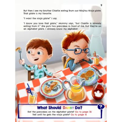 what would danny do book for 5 year olds page