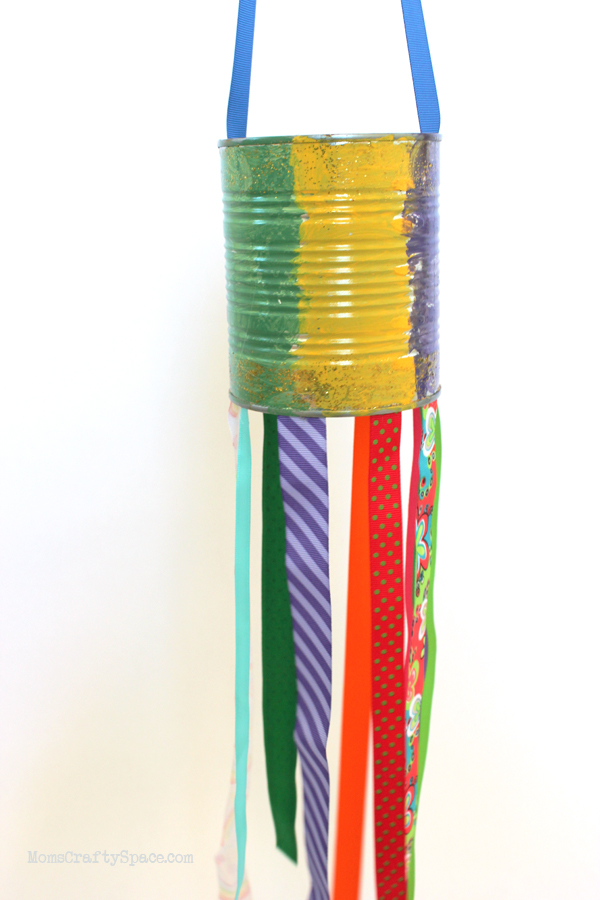 Recycled Can Windsocks