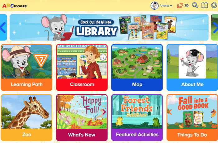 ABCMouse best educational apps
