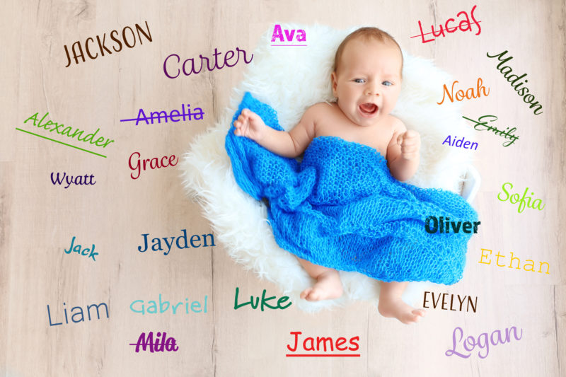 boys middle names