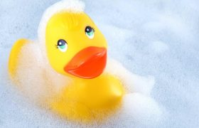 All About Sanitizing Bath Toys Naturally