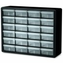 akro-mils plastic lego storage container display