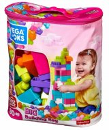Big Building Bag Pink 80-Piece