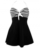 cocoship vintage sailor pin up maternity swimsuit front