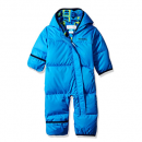 columbia snuggly baby snowsuit blue