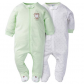 Gerbers 2 Pack Zip Front Sleep n' Play