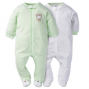gerbers sleep n' play baby pajamas 2 pack