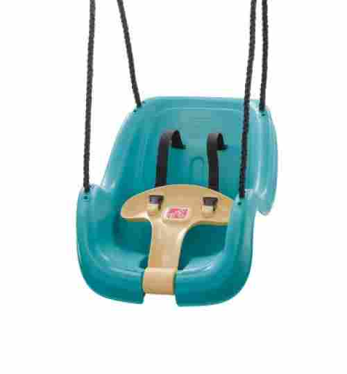 step2 toy infant to toddler swing set blue