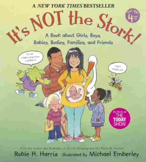it's not the stork puberty book for boys cover