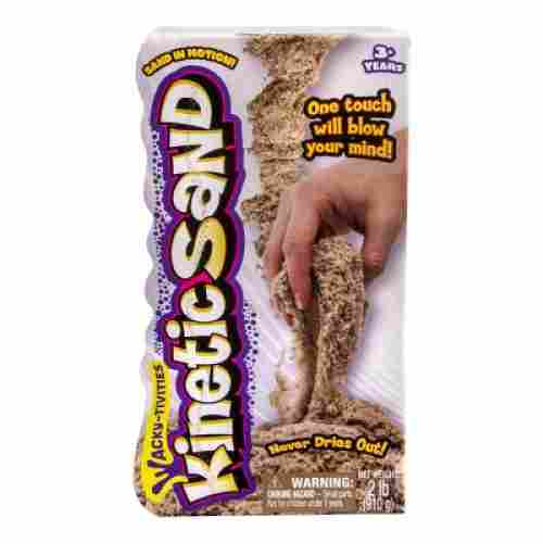 kinetic sand squeezable play sand adhd toy