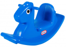 little tikes blue rocking horse blue