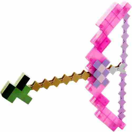 enchanted bow & arrow minecraft toys and minifigures for kids