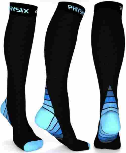 Physix Gear Sport 20-30 mmHg compression socks for pregnancy