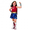 wonder woman halloween costume for kids front