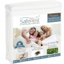 saferest twin size waterproof mattress protector for kids white