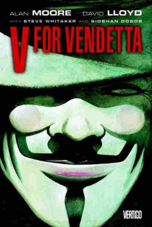 v for vendetta dc comics cover