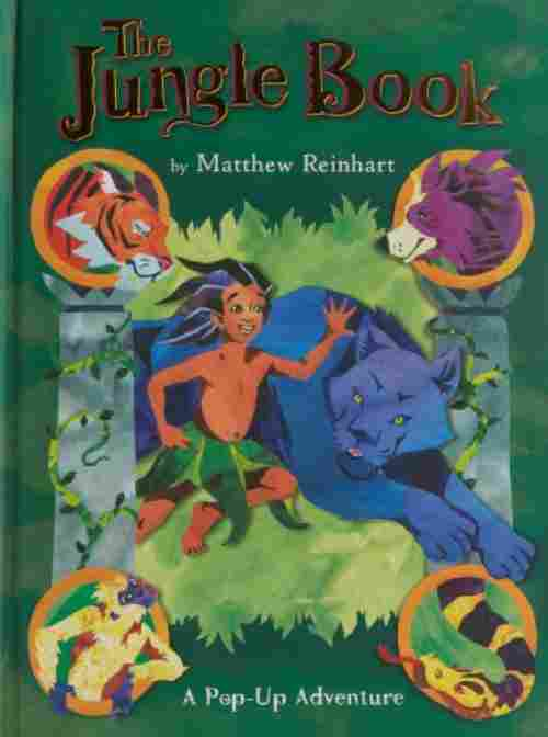 the jungle pop up book cover