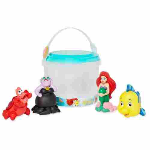 ariel bath toys that start with a