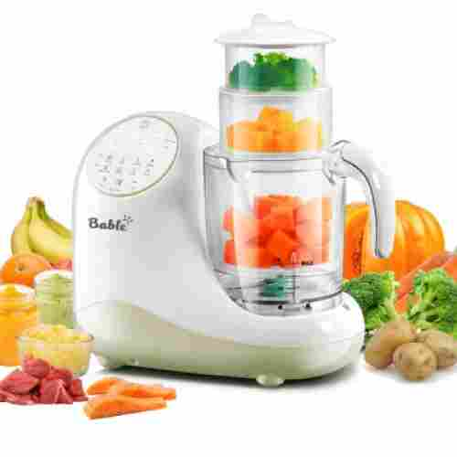 bable all-in-1 baby food processor design