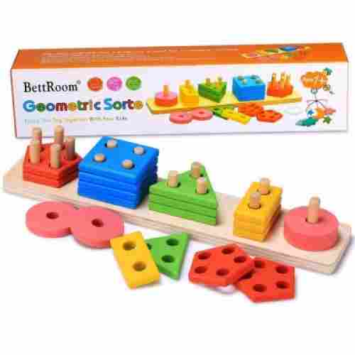 10 Month Old Toys Bettroom Wooden Blocks