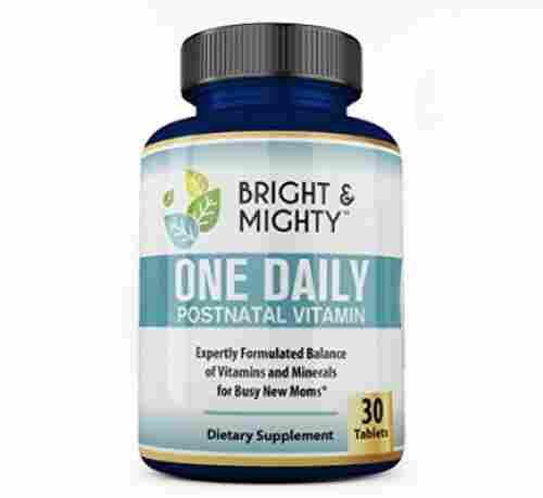 Bright and Mighty Postnatal Vitamins