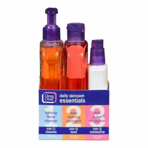 clean and clear acne face wash for teens 3 pack