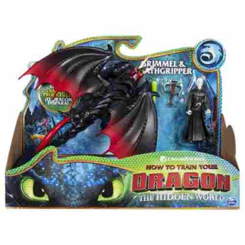 Dreamworks Deathgripper & Grimmel how to train your dragon toys
