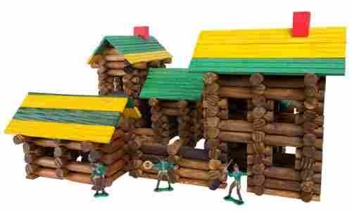 toys that start with f frontier logs 300 piece set