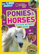 best activity book for kids National Geographic Ponies and Horses