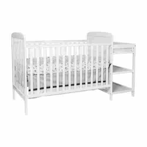suite bebe ramsey 3-in-1 crib with changing table white