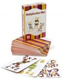 Multiplication War Game Cards