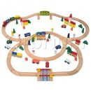 Triple-Loop Wooden