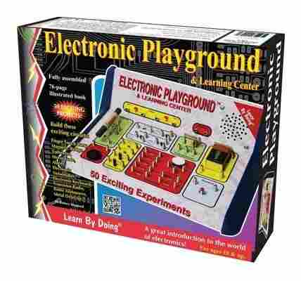 50 In 1 Electronic Playground And Learning Center By Elenco