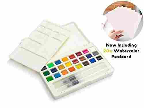 umiko 20 cold-pressed watercolor paint