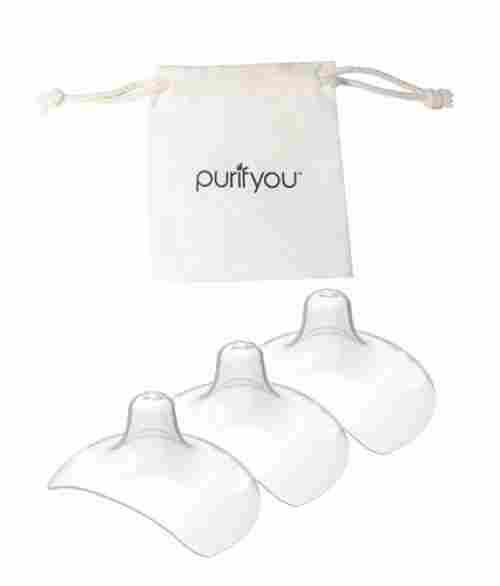 purifyou premium 20mm nipple shields soft cotton